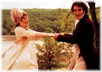 Kate Winslet as Marianne; Greg Wise as Willoughby.